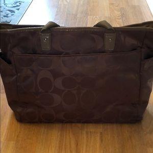 Coach Bags - Coach tan baby bag